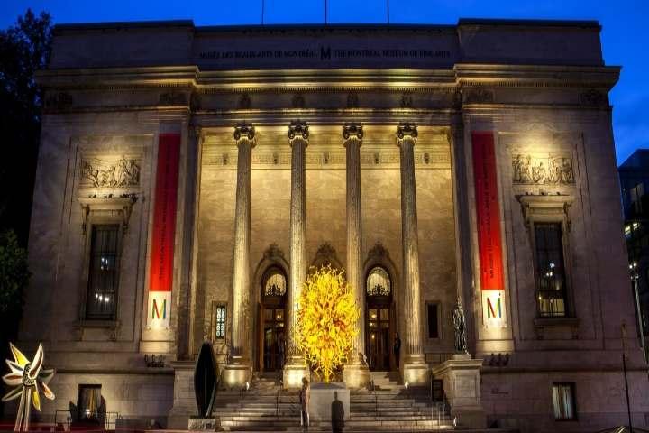 Museo de Bellas Artes en Montreal. Foto: Routes.global