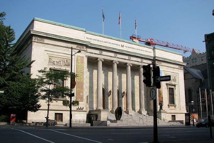 Entrada del actual Museo de Bellas Artes en Montreal. Foto: Stephanie Batigne