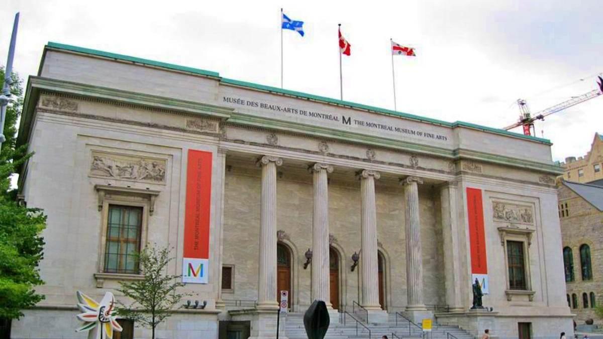 Museo de Bellas Artes en Montreal. Foto: Vive USA