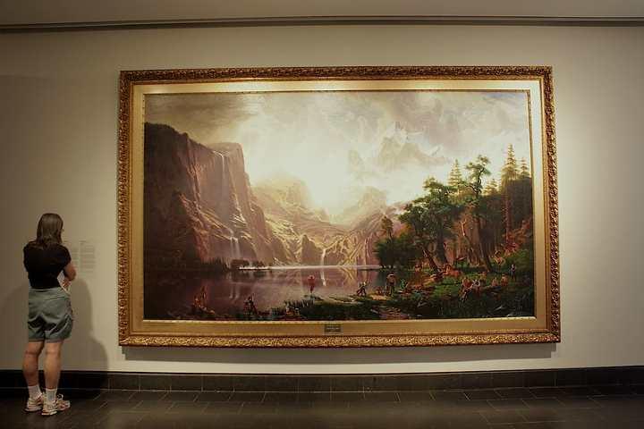 Obra en el Museo de Bellas Artes de Montreal. Foto: Johnny Trujillo Amaya | Flickr