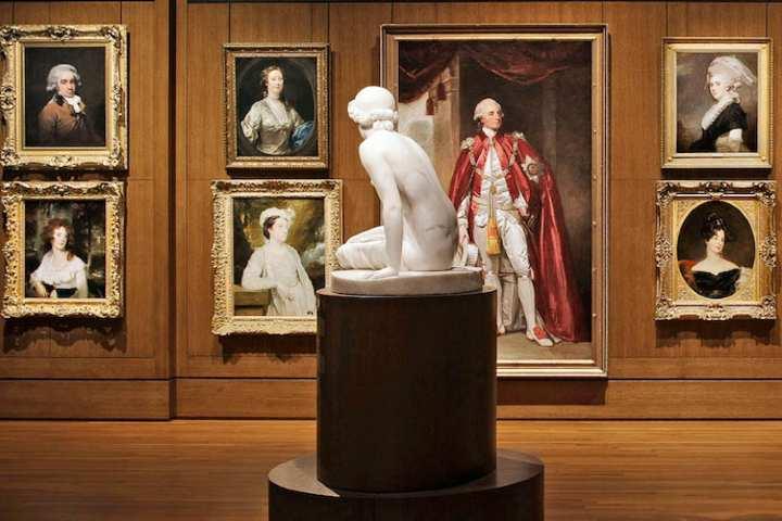 Obras que habitan en el museo. Foto: Sofitel-Accor