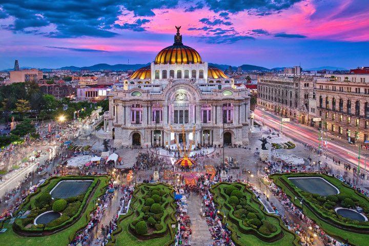 Palacio de Bellas Artes, Ciudad de México. Foto: Foodors Travel Guide