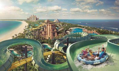 Parque Aquaventure Dubái. Foto: Viator Travel | YouTube
