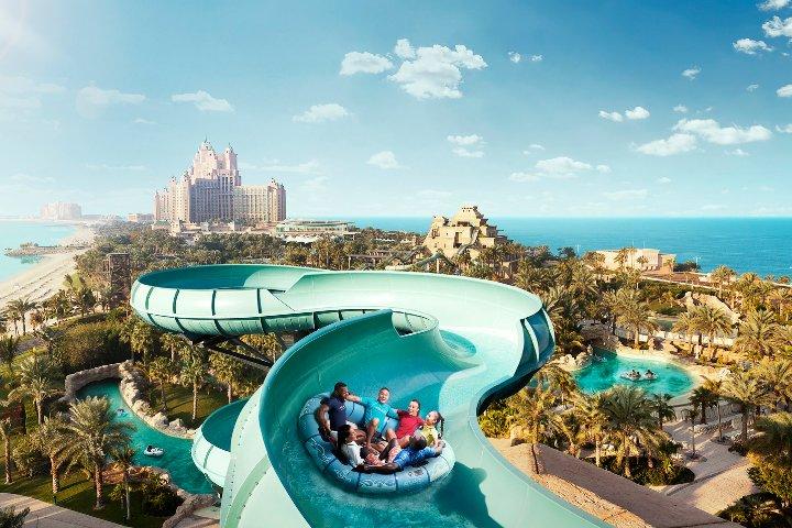 Parque Aquaventure de Dubái. Foto: PA-Community