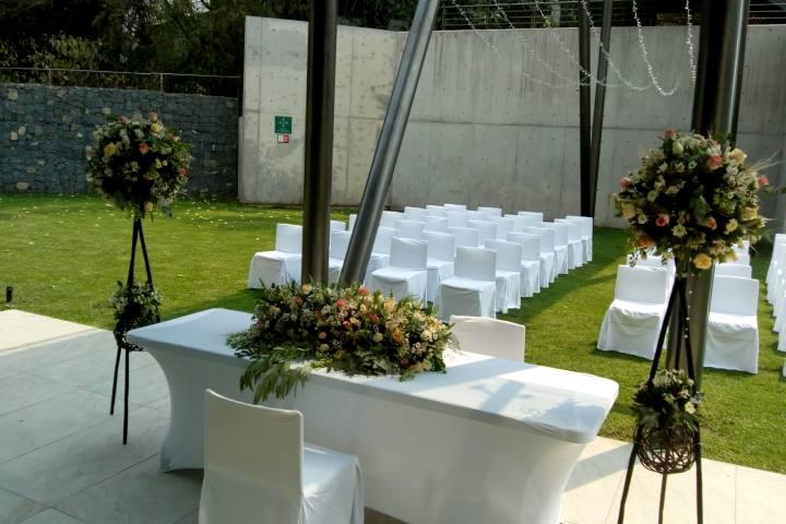 Patio Inglés para ceremonia Foto HGPSJ