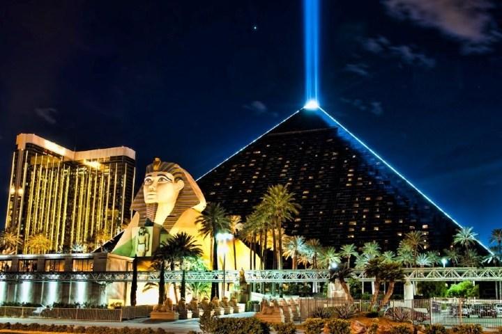 Piramide de Luxor en Las Vegas. Foto: Pinterest