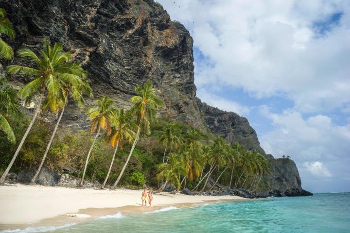 Planifica tu viaje en pareja a Playa El Frontón, Samaná ¡Será fantástico! Foto: Go Dominic Republic