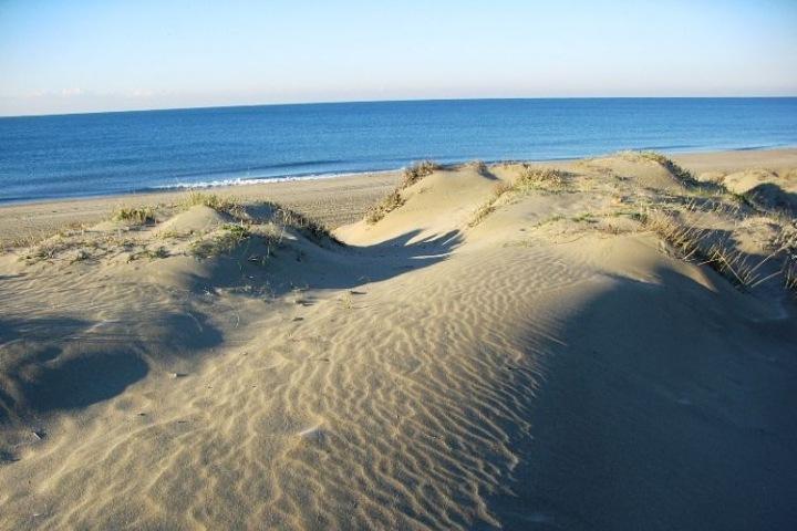 Antes la playa Capocotta de Roma no era nudista. Foto: Playas y Costa