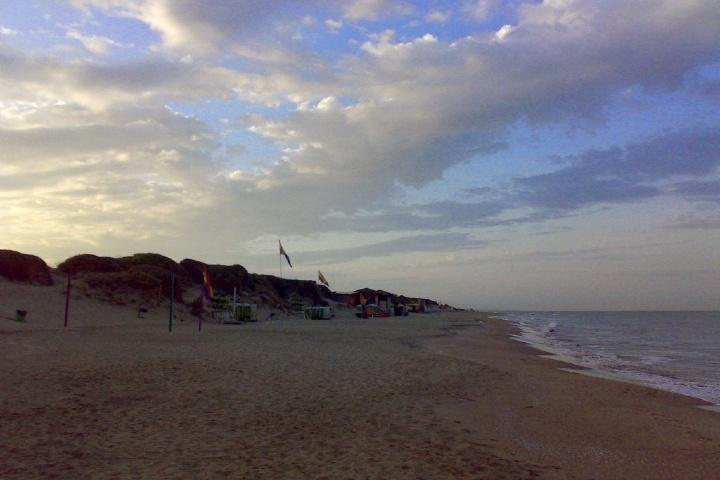 Playa Capocotta. Foto: Playas y Costa