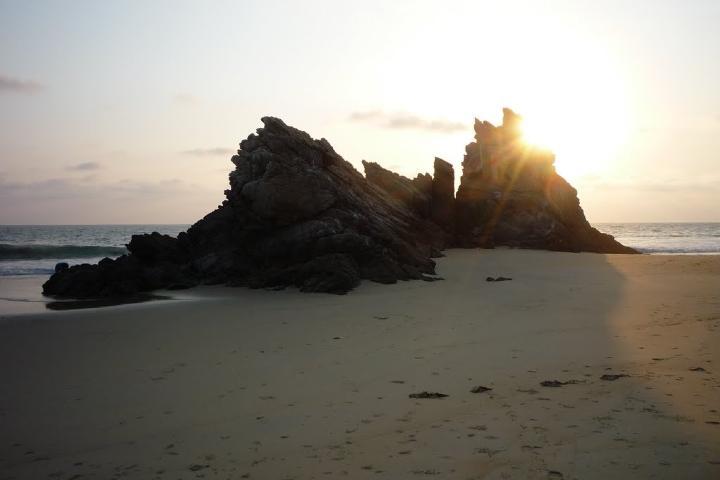 Playa La Llorona de Michoacán. Foto: Playas de México