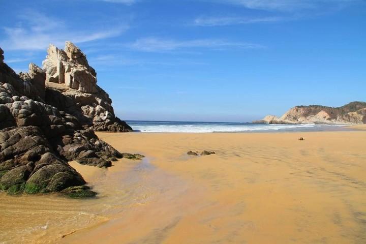 Playa virgen. Foto: Gon Villa | Facebook