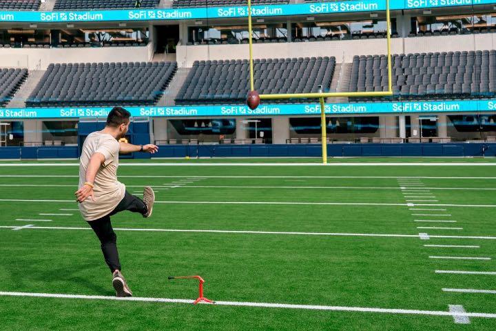 Pon a prueba tus habilidades en el campo de juego. Foto: Discoverer Los Ángeles