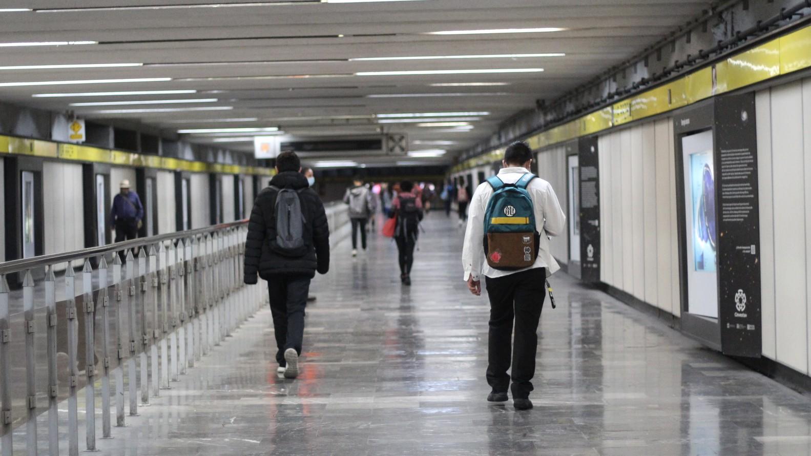 Exposiciones del Metro de CDMX. Foto: Montserrat Castillo