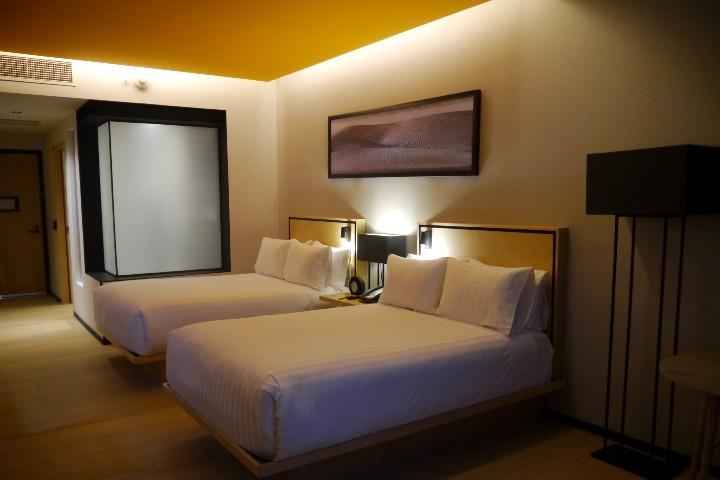 Hotel Galería Plaza San Jerónimo. Habitaciones. Foto: El Souvenir