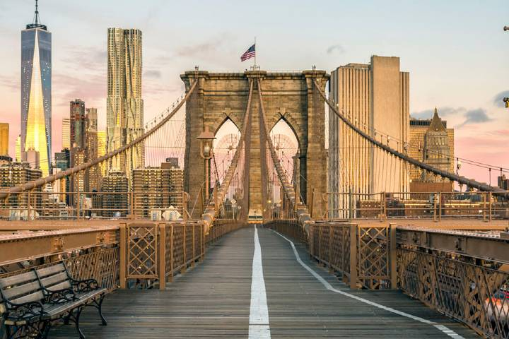 Puente de Brooklyn que conecta Nueva York y Nueva Jersey. Foto: Allianz Assistance