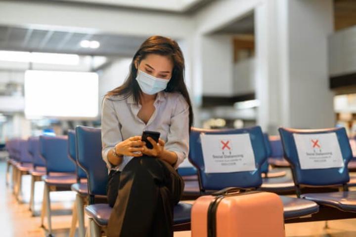 Recuerda siempre cuidarte con todas las medidas sanitarias requeridas. Foto: Aviatour