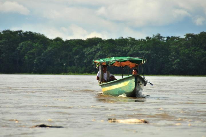Río Napo de Ecuador. Foto: Ñan Magazine
