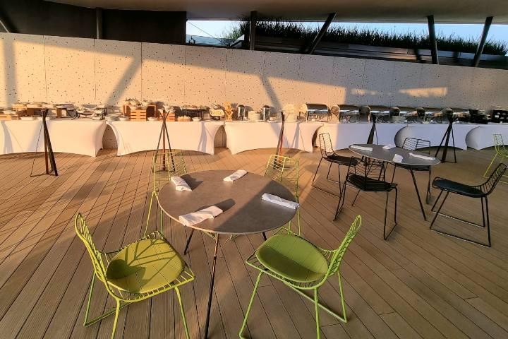 Roof Garden Buffet Boda Foto HGPSJ 4