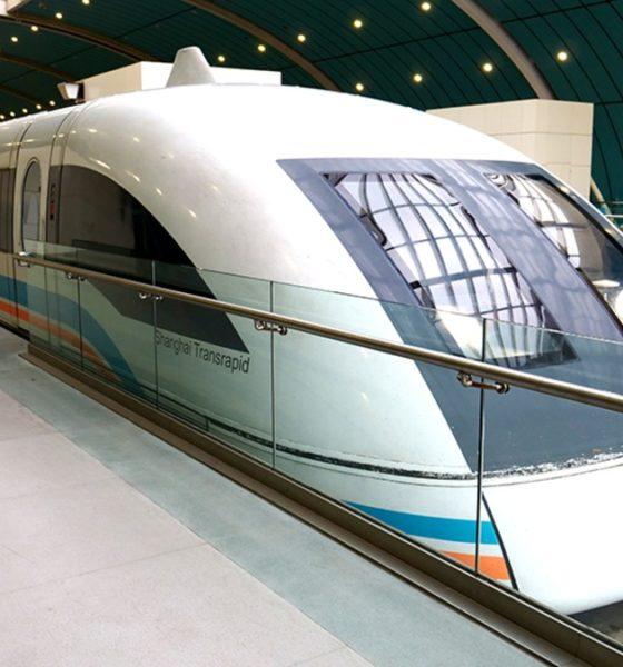 Tren Shanghai Maglev. Foto: David's Been Here