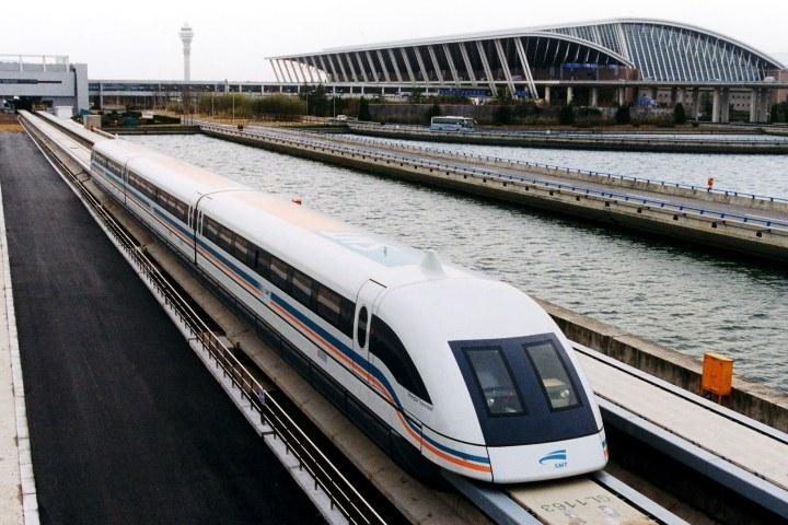 Puedes usar el Shanghai Maglev al salir del aeropuerto. Foto: Justicket - Altervista