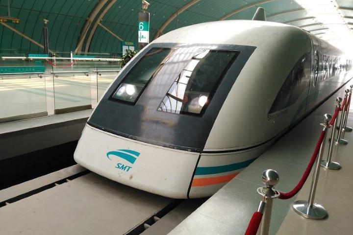 Te imaginas subir al tren Shanghai Maglev ¡Será impresionante! Foto: Medio Penique