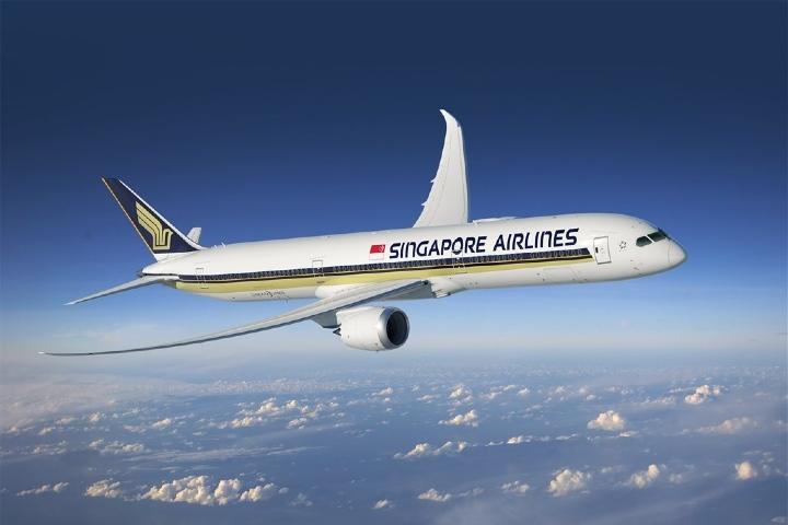 Avión de Singapore Airlines. Foto: Focus Taiwan