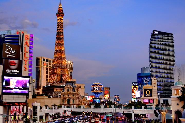 Strip de Las Vegas. Foto: Viajes y Fotografía
