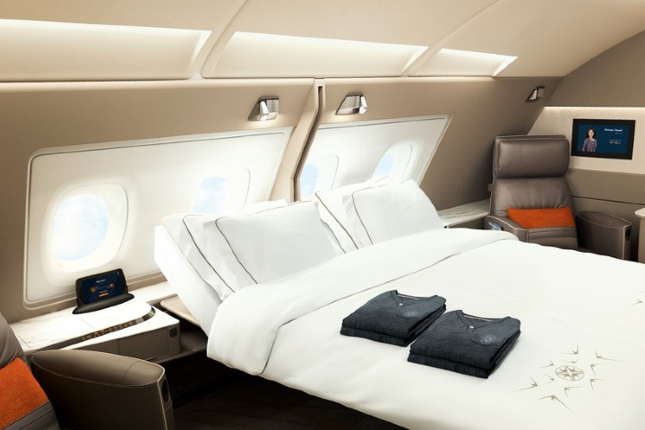 Suites del avión. Foto: Diario del Viajero