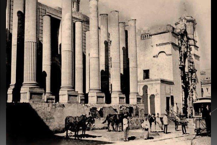 Inicios del Teatro Juárez. Foto: Observatorio informativo