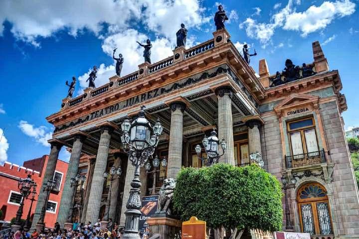 Teatro Juárez, Guanajuato. Foto: Turi México