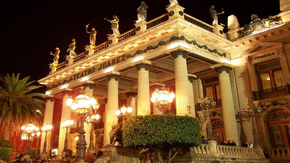 Teatro Juárez, Guanajuato. Foto: Pedro Sánchez