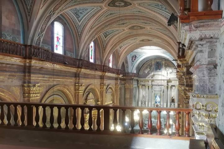 Templo de Nuestra señora de la Luz Salvatierra - Foto Luis Juárez J.