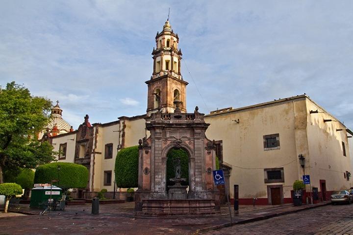 Templo y Ex Convento de Santa Clara. Foto: De paseo en Querétaro