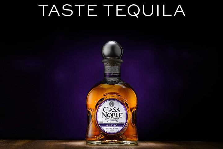 Tequila de la Hacienda Tequilera Casa Noble Añejo. Foto: Casa Noble Tequila