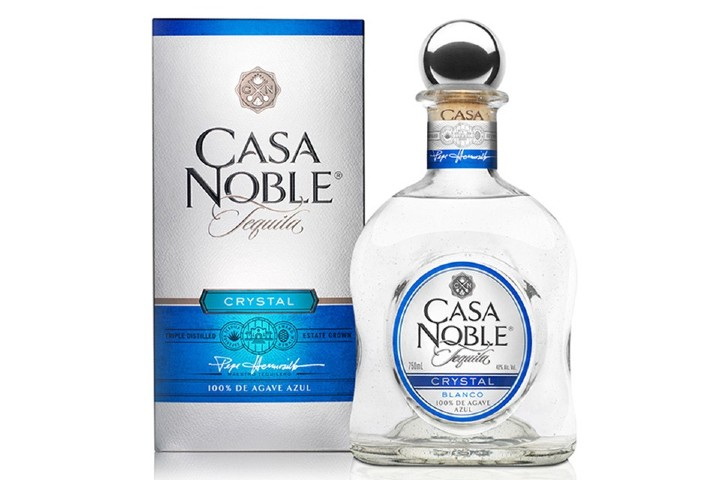 Tequila Casa Noble Crystal. Foto: Seaholm Wines & Liquors