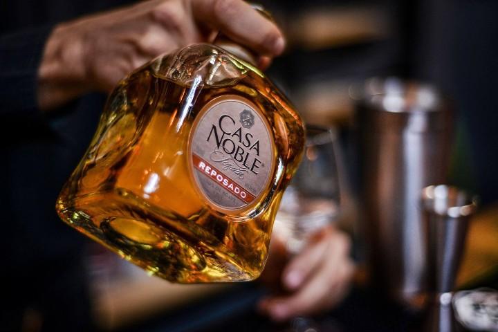 Tequila Casa Noble Reposado. Foto: Le Chat Magazine
