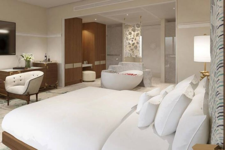 The St. Regis Bermuda Resort tiene habitaciones llenas de lujo y elegancia. Foto: Marriott