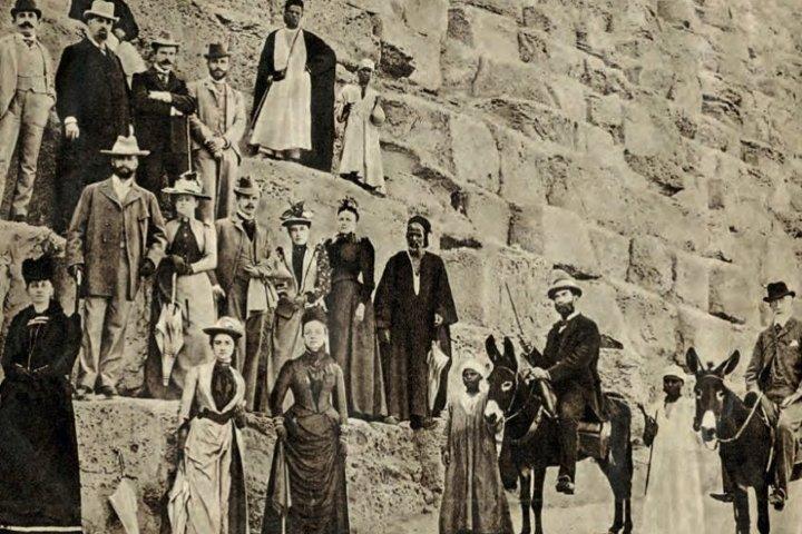 Turismo en la antigüedad. Foto: Sociedad Geográfica Española