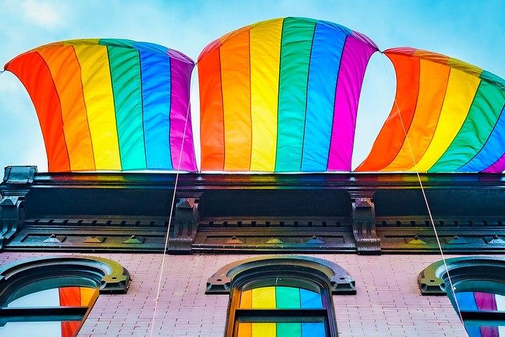 Bandera del Orgullo. Pride USA. Foto: FBK