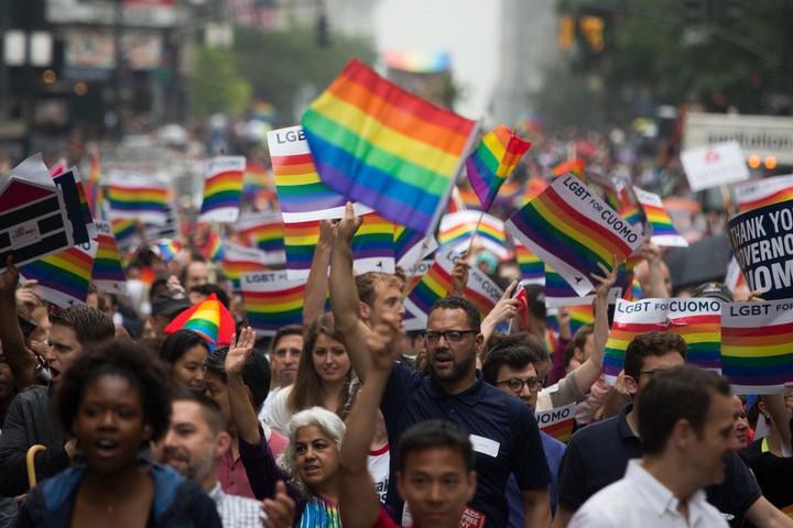 Pride en Estados Unidos. Foto: FBK