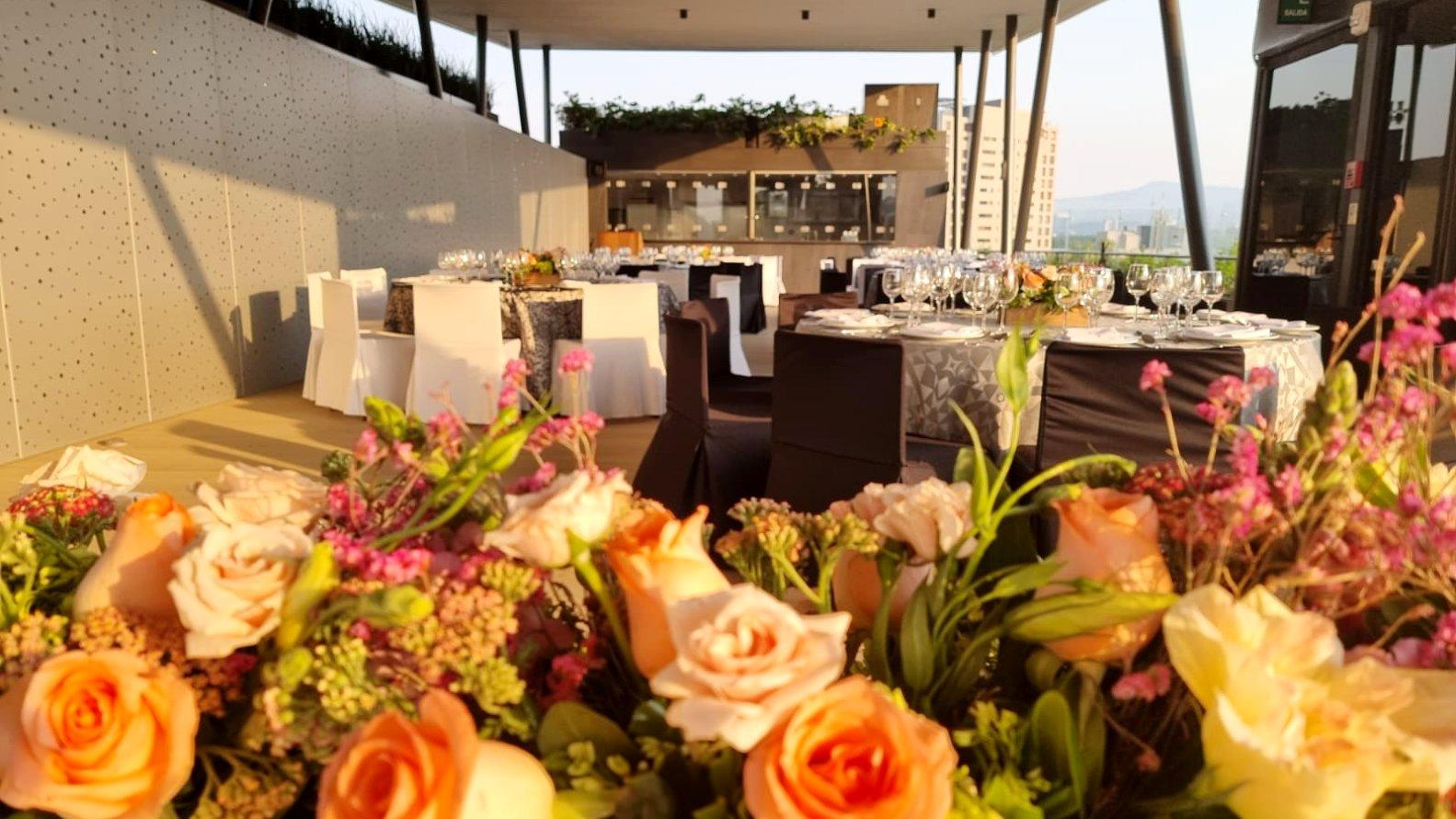 portada Roof Garden Banquete Hotel Galería Plaza San Jerónimo