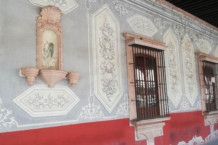 Casas coloniales (Marquéz) - Foto Luis Juárez J.