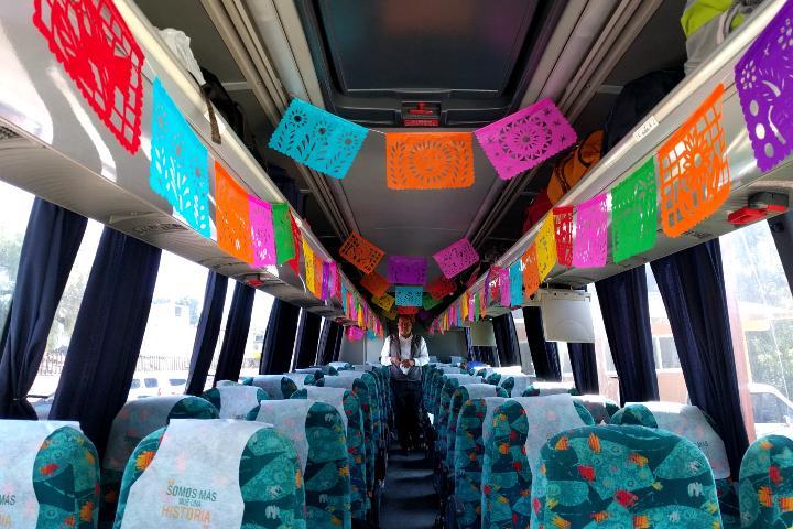 Renta de Autobuses Autotur: Foto: El Souvenir