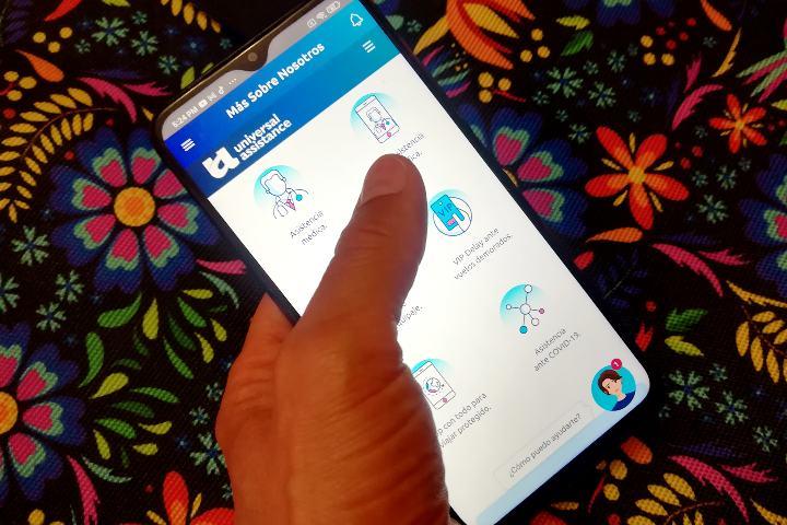 APP Autogestión Medica Mobile. Foto: El Souvenir