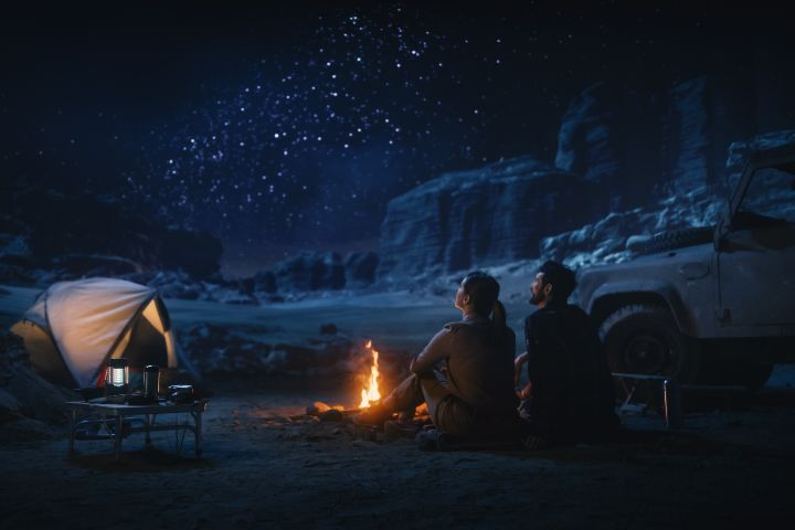 Camping en el desierto. Foto: JT ASTK