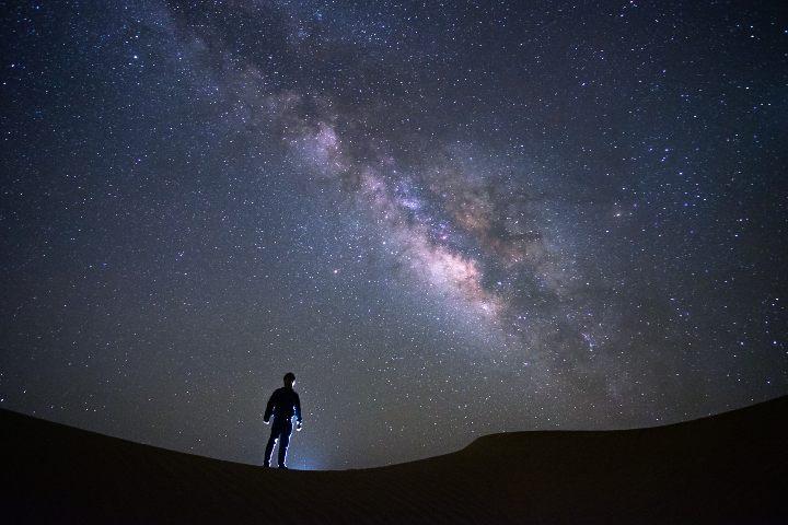 Contemplación de Estrellas. Foto :JT ASTK