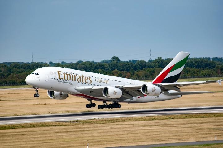 Emirates Airlines Foto EA