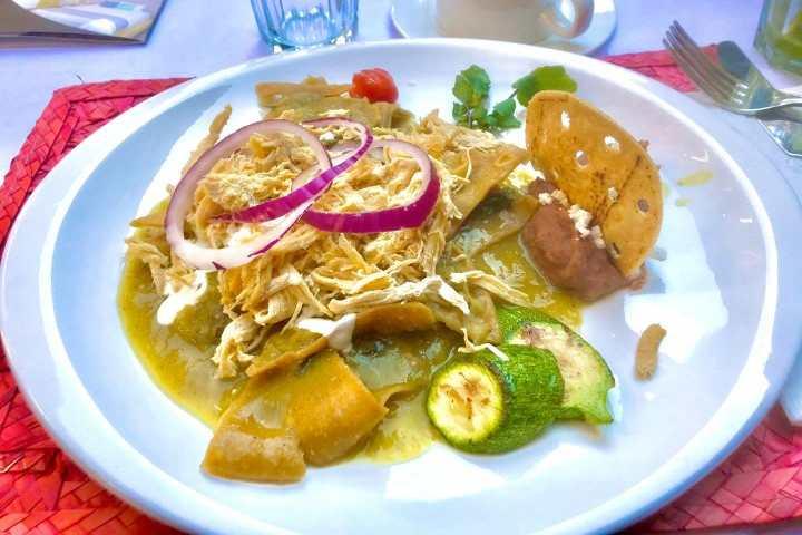 Enchiladas Vallesanas. Foto por El Souvenir.