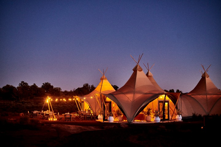 Grand Canyon Glamping. Foto: Under Canvas