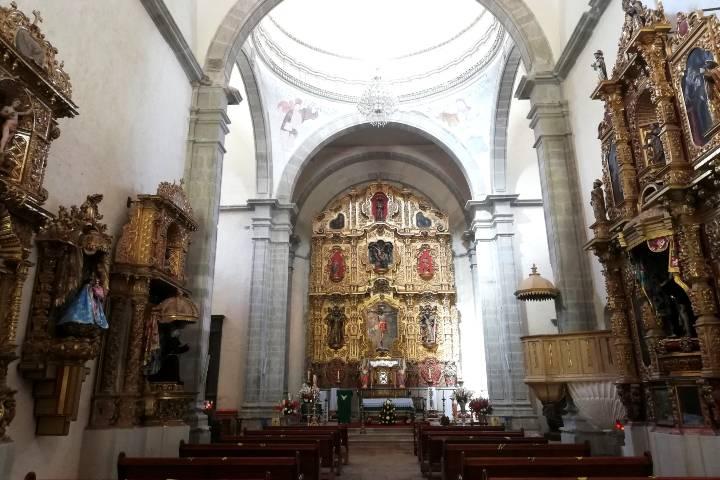 Interior del Convento - Foto Luis Juárez J.